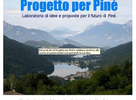 Nasce sito Progetto per Piné