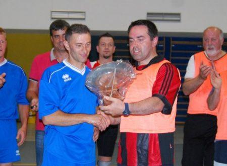 Partita tra il Futsal Piné ed il Consiglio Comunale di Baselga di Piné