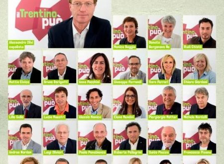 I candidati alle elezioni provinciali