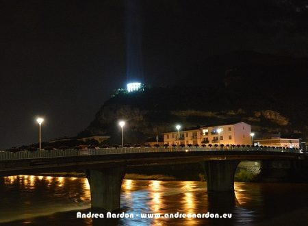 Columns of light – Doss Trento