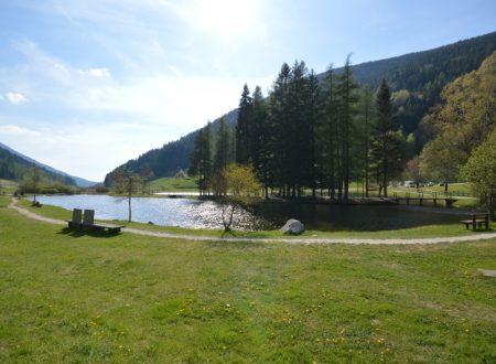 Lago delle buse a Brusago