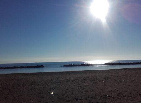 Civitanova: mare all'alba e al tramonto
